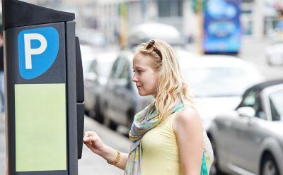 Parcometre stradale cu senzori de poluare
