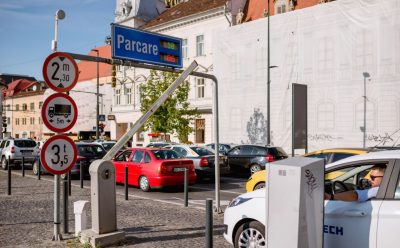 Sisteme pentru parcari <br>on-street si off-street