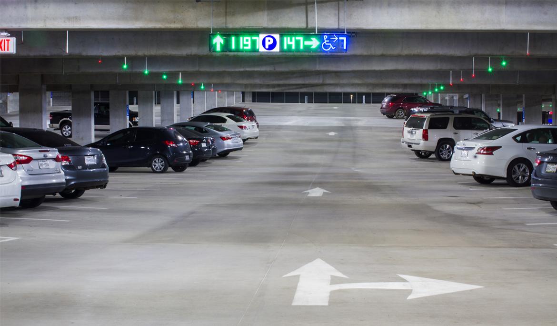 Sisteme de ghidare pentru parcari off-street